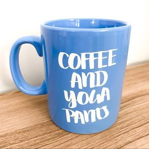 Cute Coffee & Yoga Pants Mug ☕️